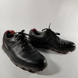 Footjoy Dryjoys Tour Black Spikeless Golf Shoes